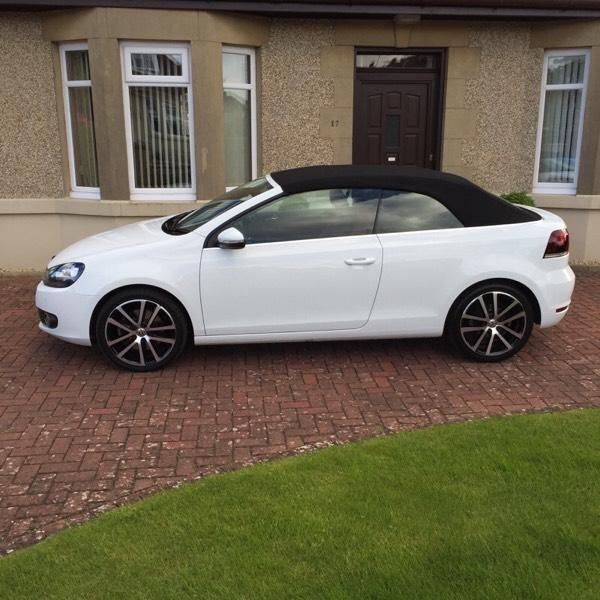Vw Golf 1 Red Devil: VW Golf GT TSI 1.4 (160BHP) Cabriolet 2012/12 Plate Pure