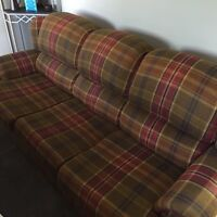 Selling couch, love seat, and chair