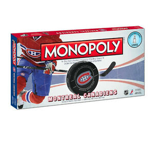 Montreal Canadiens Monopoly at JJ Sports