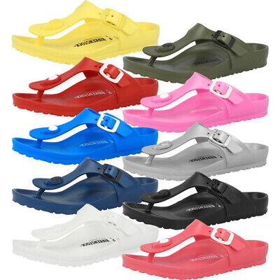 Birkenstock Gizeh Kids EVA Schuhe Kinder Sandalen Zehentrenner Badelatschen Clog