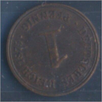 Deutsches Reich Jägernr: 1 1875 A vorzüglich Bronze 1875 1 Pfennig (7849205