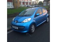 Peugeot 107 automatic, A/C,alloy wheels s/h , 20 tax, great condition