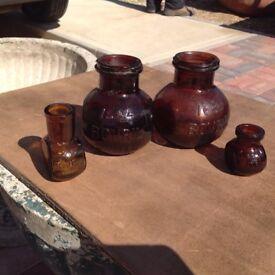 Bovril jars