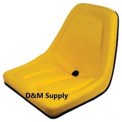 Yellow Michigan Style John Deere Kubota Bobcat Yanmar Ford Lawn Tractor Seat
