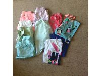 Girls summer clothes age 10-11