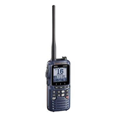 Standard Horizon HX890NB Handheld VHF Blue Floating 6W Class H Two-Way Radio