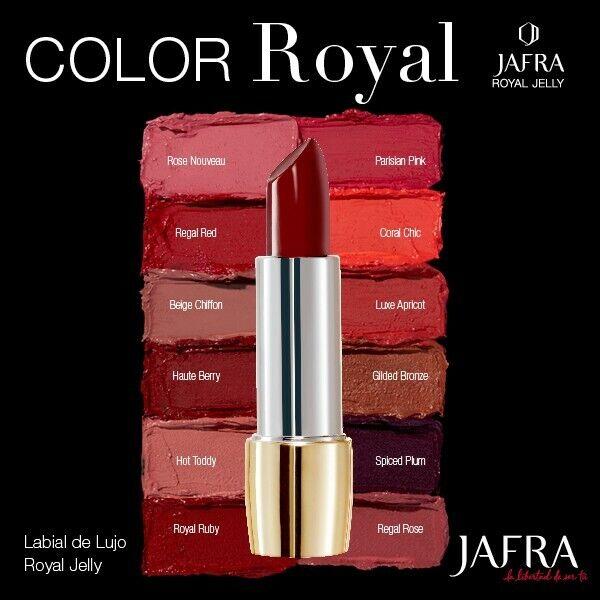 Jafra ROYAL JELLY Luxury Lippenstift **spiced plum**
