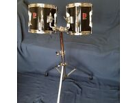 2 Premier Tom Toms complete with stand £100