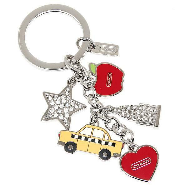 COACH ASSORTED ACESSORIES & KEY CHARMS / FOB KEY CHAIN