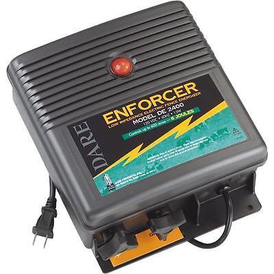 Dare 110v Enforcer 600 Acre Electric Fencer Fence Charger De2400