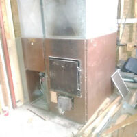 oil/wood furnace