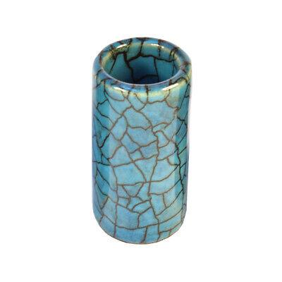 STAR SINGER Blue Lagoon Slide Medium ❘ Ceramic Bottleneck ❘ Handmade in...