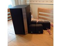 Surround system speakers