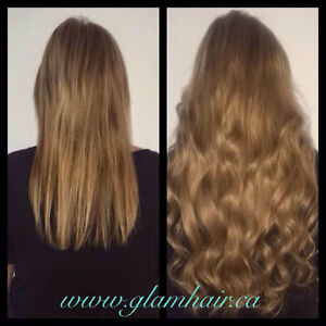 Glam Hair Studio offers high quality, affordable hair extensions