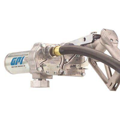 Gpi M-150s 15 Gpm 12 V Dc Fuel Transfer Pump W Manual Non-automatic Shut-off