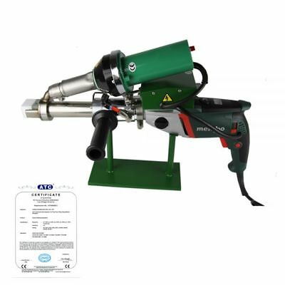 Ac220v Handheld Plastic Extrusion Welder Hot Air Extruder 5001b Durable