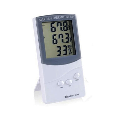 Outdoor Thermometer Digital LCD Hygrometer Temperature Humidity Meter DH &L5