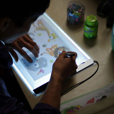 A4 LED Tracing Board Light Box Stencil Drawing Thin Pad Table Tattoo Artist Art