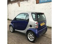 Smart City Coupe LHD SMART & PULSE (silver) 2001