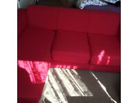 Nice, hardly used corner sofa.