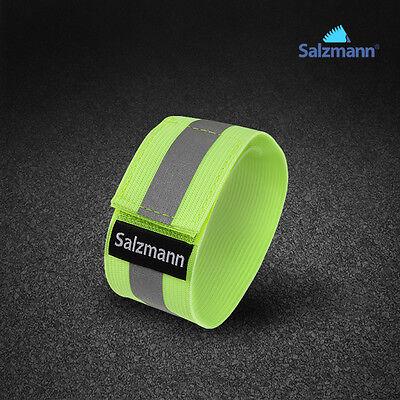 Salzmann Cycling Bicycle Reflective Band Arm Leg Pant Reflective Band Strap Safe