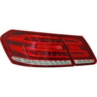 Rückleuchten Set für Mercedes E-Klasse W212 09-13 LED Klarglas/Rot