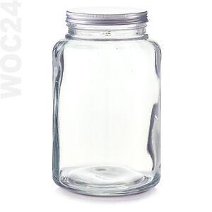 4,9 L Bonboniere Bonbonglas Vorratsglas Vorratsgläser Glas Gebäckdose Keksdose