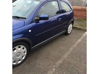 Vauxhall Corsa 2005 for sale or swap for a spare car