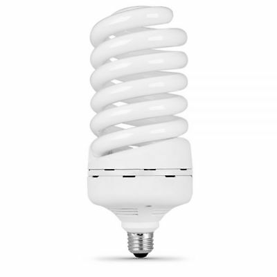 Feit ESL85T/D Non-Dimmable Daylight Twist E26 CFL Bulb, 85W, 300W (85w Cfl Light Bulb)