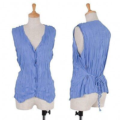PLEATS PLEASE Pleated Vest Size 3(K-43100)