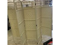 Wicker room divider 6