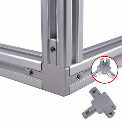 2020 Aluminum T-profile L-shape 3-way 90 Inside Corner Bracket Connector