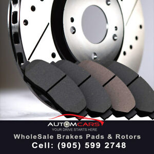 """!$Free$ Brake Pads with Every Set of Rotors""""Automcars""""!"""