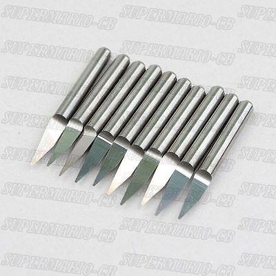 5x Carbide Pcb Engraving Cnc Bit Router 20 Deg 0.4mm
