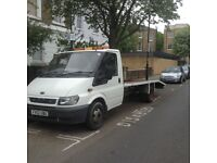 Clean Transit recovery truck for sale 151,000 miles mot'd ready work with tow bar