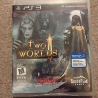 Two Worlds 2 brand new sealed PS3 MMO