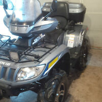 Reduced to sell 2012 Arctic Cat TRV 700