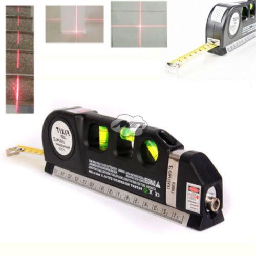 Multipurpose Laser Level Horizon Vertical Measure Tape ...