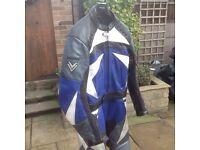 Frank Thomas motor cycle leathers uk 42