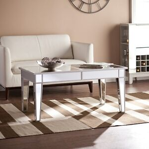 Southern Enterprises Mirage Mirrored Cocktail Table (CK9169)...