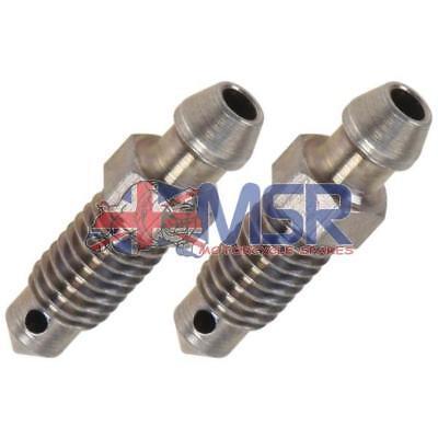 Brake Caliper Bleed Screw/Nipple M8 x 1.25mm *2 PACK*