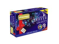 Garden Lights, 288 Blue LED Cluster Lights Ideal for the Garden or Indoor use (FREE LOCAL DELIVERY)