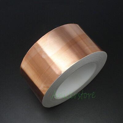 50mm X 33m 108 Feet Emi Shielding Single Conductive Adhesive Copper Foil Tape