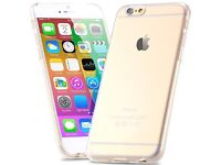 iPhone 6s Plus silicone rubber clear case cover new