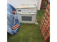 Hob and oven good working condition