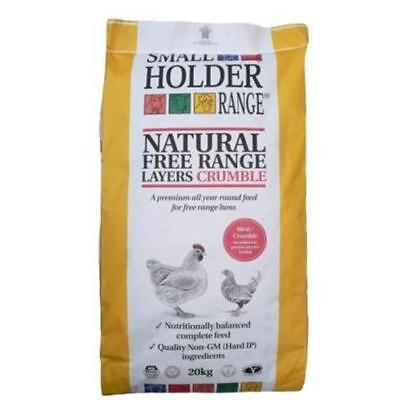 Allen & Page Small Holder Range Natural Free Range Layers Crumble 5kg