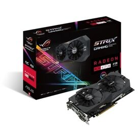Video Card Asus Strix RX 470 4gb