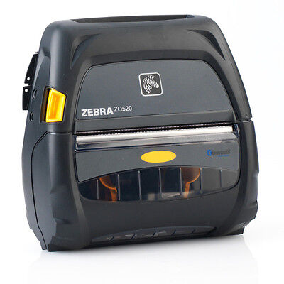 Zebra Zq520 Direct Thermal Usb Bluetooth Receipt Printer Zq52-aue0000-00