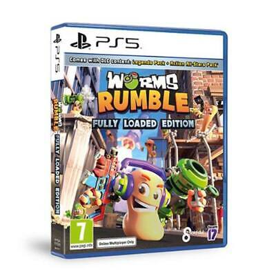 Worms Rumble Fully Loaded Edition PS5 ***PRE-ORDER ITEM*** Release Date 13/07/21