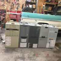 Used mid efficient furnaces supplied and installed $1500